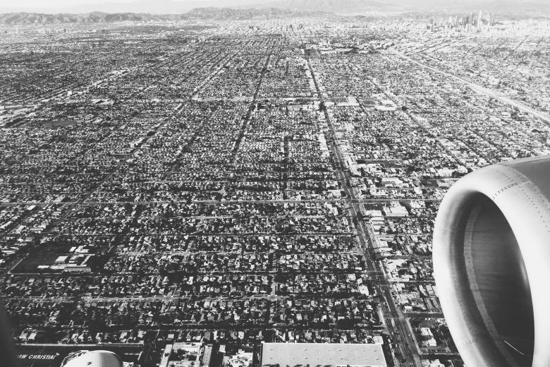 Los Angeles California Aerial View | Verve