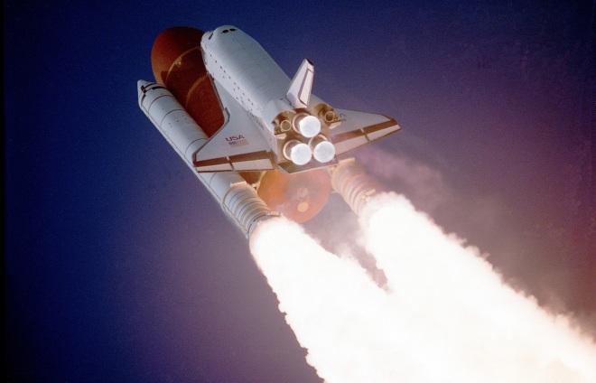 NASA Rocket Liftoff   Verve